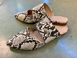 Shay Snakeskin Loafer