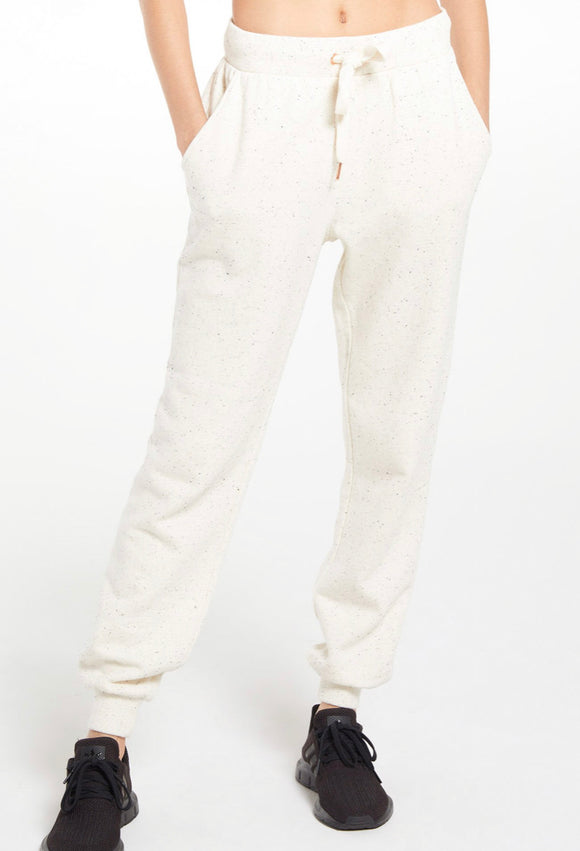 Ambre Speckled Pant -Natural