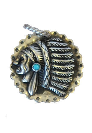 Chief with Turquoise