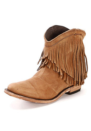 Fringe Ankle Boot