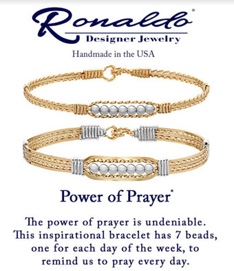 Power of Prayer Wide Bracelet