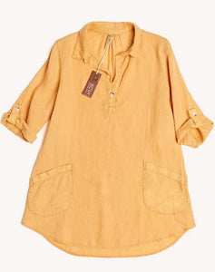 Rory Tunic- Charlock Yellow