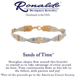 Sands of Time Gold Bracelet