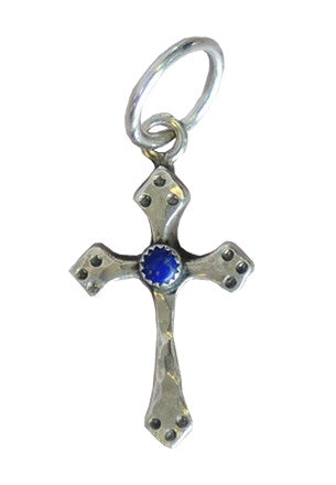 Small Lapis Cross