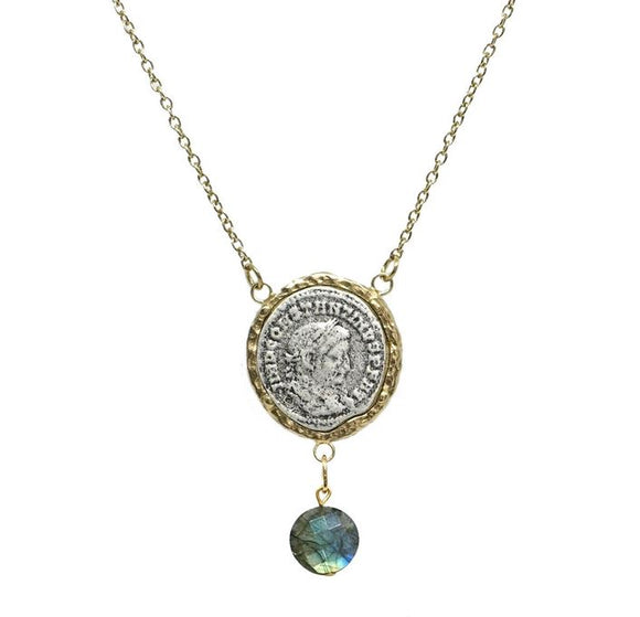 Gold Maximianus Labordorite Necklace