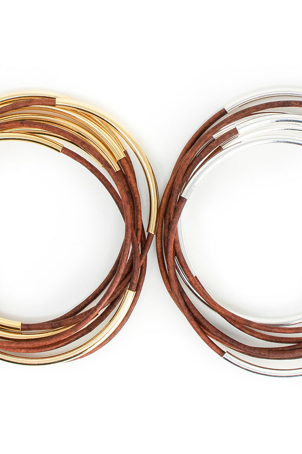 Skinny Bangles<br>Honey