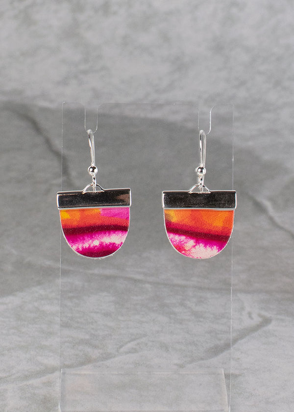 Leather Earrings<br>Drips