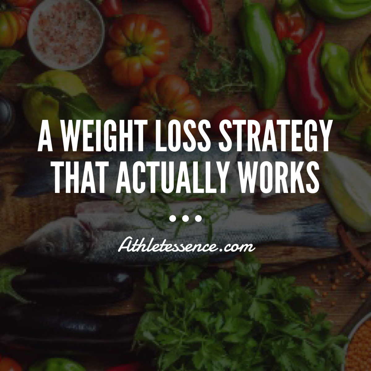 A Weight Loss Strategy That Actually Works