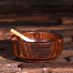Personalised Wood Ashtray