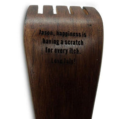 Personalised Wood Back Scratcher
