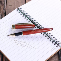 Personalised Redwood Pen