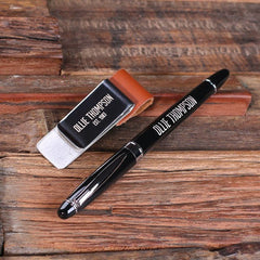 Personalised Pen and Pen Holder Set