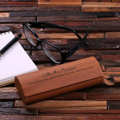 Personalised Eyeglass Case