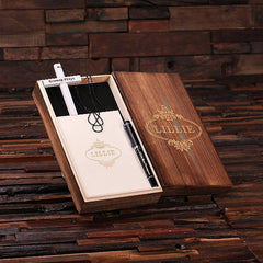 Personalised Gift Set with Journal, Cross and Pen with Box