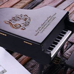 Personalised Piano Music Box