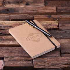Personalised Banded Journal