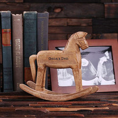 Personalised Miniature Rocking Horse