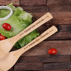 Personalised Bamboo Utensils