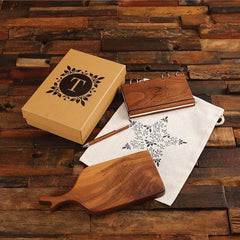 Personalised Pen, Journal & Cheese Board Women's Gift Set