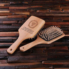 Personalised Wood Brush