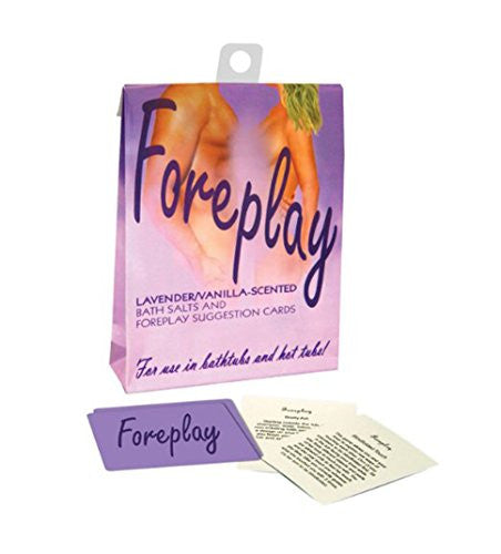 Foreplay Bath Set Lavender Scent