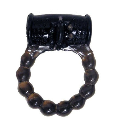 Black Vibrating Cock Ring