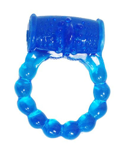 Blue Vibrating Cock Ring