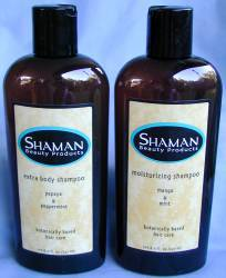 Shaman Beauty Products 8oz Bottles