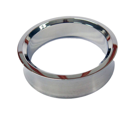 Stainless Indented Brushed Cock Ring for Men 1 3/4""