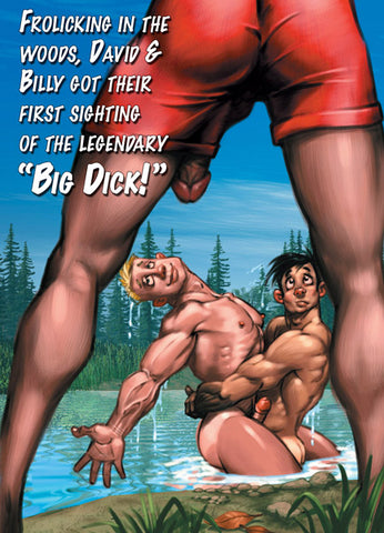 """BIG DICK"" Gay Birthday Card"