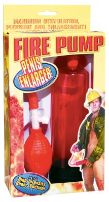 Fire Red Pump Penis Enlarger