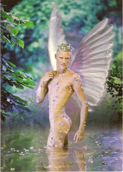 Christmas Angel - Gay Christmas Card