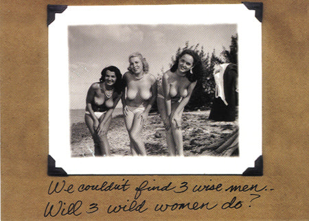 3 Wild Women- Christmas Card