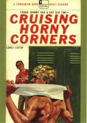 Cruising Horny Corners - Gay Postcard