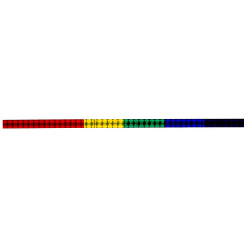 Holographic Rainbow Long-Strip - Sticker
