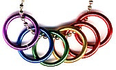 Pride Rings Necklace