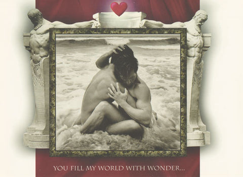 You Fill My World - Gay Valentine's Day Card