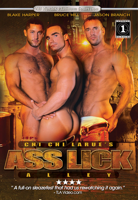 Ass Lick Alley DVD