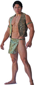Sexy Men's Halloween Costumes Egyptian Harem