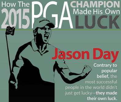 How the 2015 PGA Champion Made His Own Luck