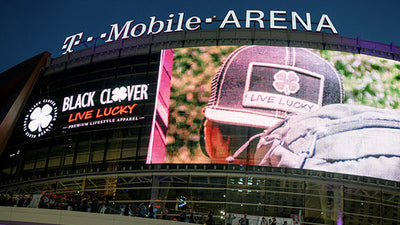 "Black Clover Announces ""Founding Partnership"" of the T-Mobile Las Vegas Arena"