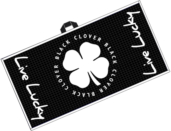 Black Clover Swag Towel Black Alt