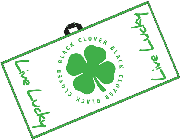 Lime Clover Swag Towel Lime Alt