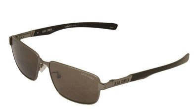 Black Clover Cruise Lucky Sun Glasses Silver on Smoke