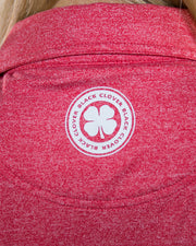 Ladies Fortune Polo - Red