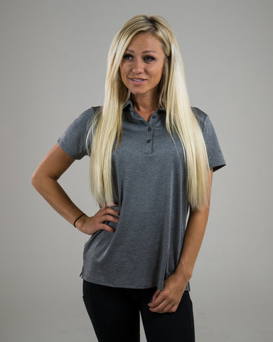 Ladies Premier Polo - Titanium