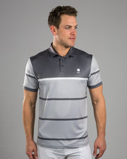 Stripes Grey Polo