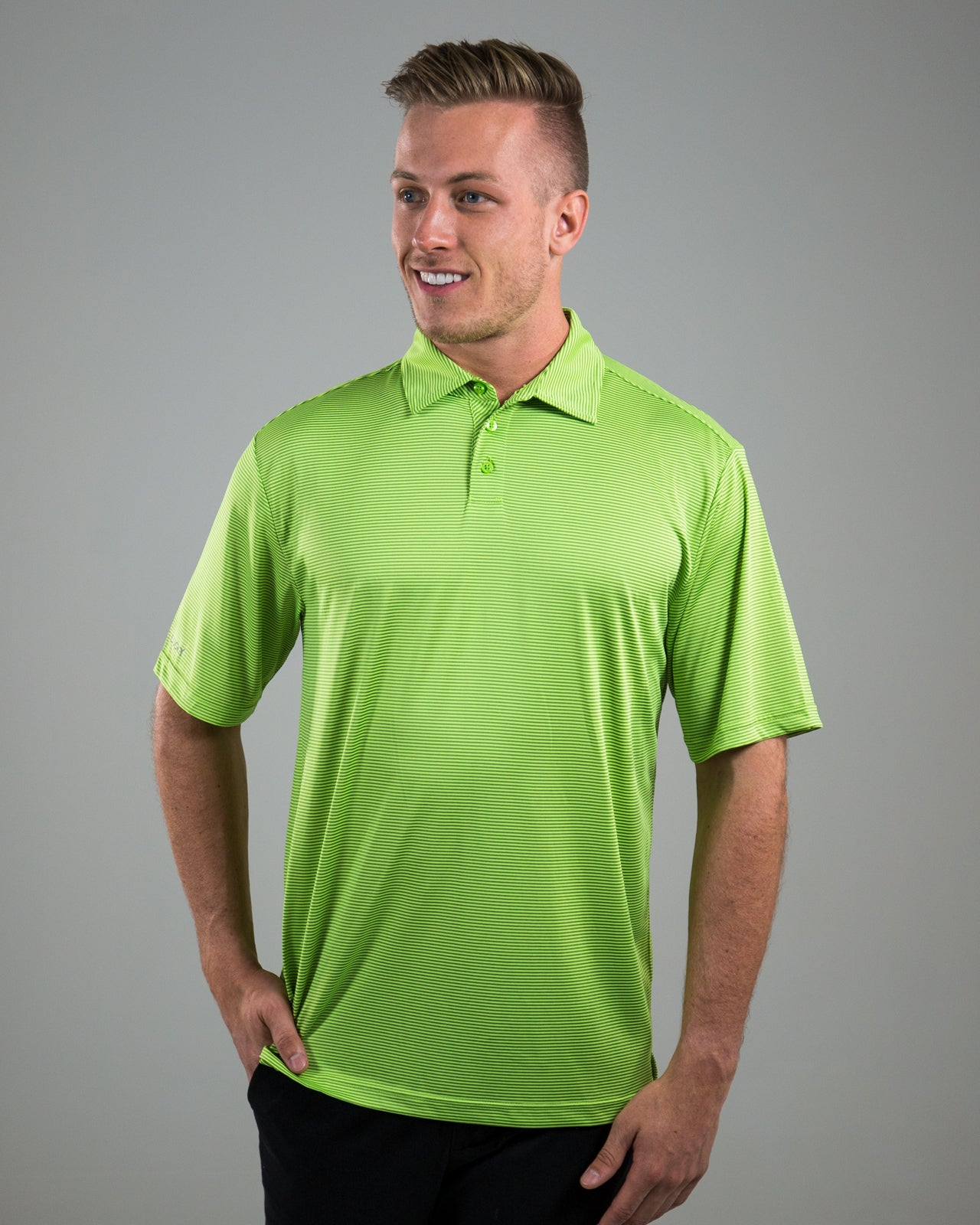 Vanguard Polo - Lime