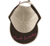 Black Clover Breast Cancer Camo Hat bottom view