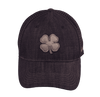 Black Clover Denim Baseball Cap front side view